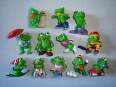 Kinder Surprise Set  Ranopla Frosty Frogs  by KinderSurpriseToys
