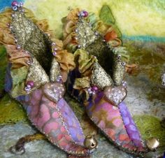 fairy slippers, labor intensive, thank goodness fairies have magical powers to get stuff done