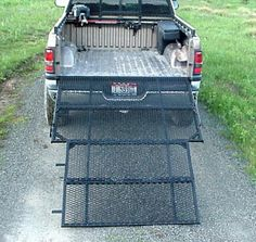 Steel Tailgate And Ramp In One Truck Truck Accessories