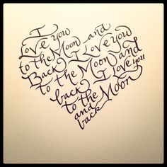 Love By The Calligraphy Girl
