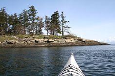 Kayaking around B.C.'s Gulf Islands.