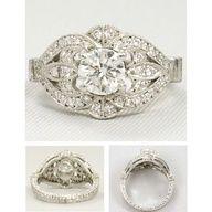 Vintage #Engagement ring  #rings