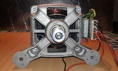 How to Use a Washing Machine Motor : 6 Steps - Instructables Basic Electrical Wiring, Electrical Projects, Electrical Installation, Simple Electronic Circuits, Diy Air Conditioner, Washing Machine Motor, Electronic Speed Control, Universal Motor, Diy Cnc Router