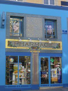 Pharmacie du Point-Central (1922) – rue Saint-Georges, Nancy (54) | Flickr : partage de photos !