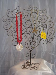 Handmade JEWELRY TREE by thepeacocktheory on Etsy, $32.00