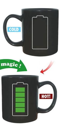 Battery Heat Changing Mug ♥
