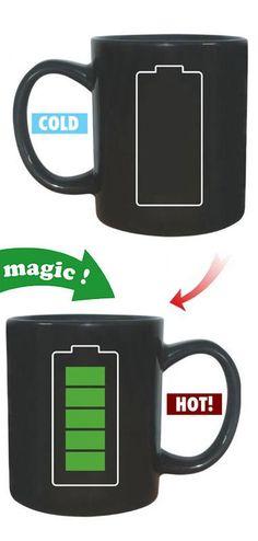 Battery Heat Changing Mug ♥