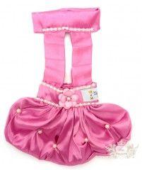 Vestido Suspensório - Rosa