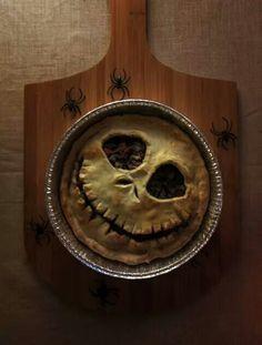 Jack Skellington Pie