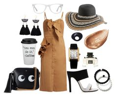 """""""CEO"""" by dania74 on Polyvore featuring Anya Hindmarch, Rip Curl, Muse, Johanna Ortiz, Cartier, Gucci, Monies, Jouer and Lokai"""