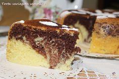 Torta+variegata+semplice+con+Olla+GM Olla Gm G, Multicooker, Tiramisu, Ethnic Recipes, Slow Cooker, Food, Pots, Pastries, Simple