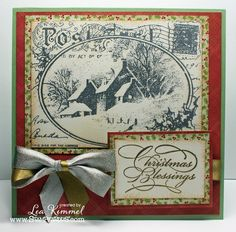 Snowy Postcard by leadonna24 - Cards and Paper Crafts at Splitcoaststampers