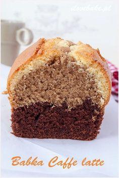 babka caffe latte dobra w smaku Polish Desserts, Polish Recipes, Just Desserts, Gourmet Recipes, Sweet Recipes, Cake Recipes, Babka Recipe, Orange Recipes, Sweet Bread