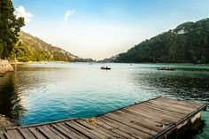 Boating at the Nainital lake