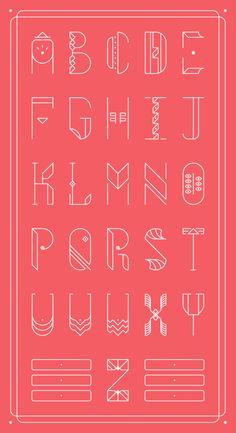 """Letters! By """"Zwei Plus"""""""