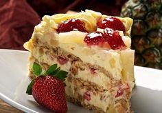 Unsere Rezeptsammlung: Hawaii-Torte