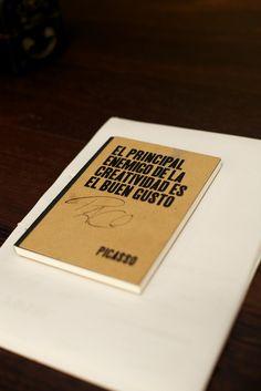 El principal enemigo de la creatividad es el buen gusto Cuaderno de Notas en el Taller de Paco Torreblanca