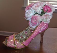 Confessions of a glitter addict: 2015 Blush and Bashful Steel Magnolias Shoe