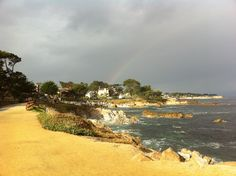 rainbow in monterey