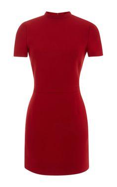 Wool and Silk Blend Mini Dress by Valentino - Moda Operandi