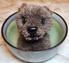 Bear Pom pom bear Handcraft