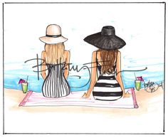 beach stripe - brittany fuson