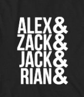 ALL TIME LOW - Band Names - Okay so these guys are the funniest, most amazing band members ever. Now, what could be more perfect than a shirt with their names on it?