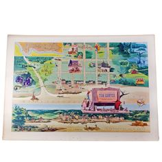 Modern Jelly: Tom Sawyer Map Litho, at 19% off!