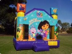 Dora Jumping Castle from Castle Capers Adelaide
