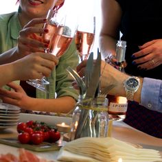Share the pleasure! with a glass of J.P. Chenet sparkling Rosé.