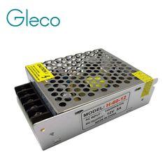 12 فولت 5a 60 واط 110 فولت-220 فولت الإضاءة المحولات ، عالية الجودة الصمام سائق ل led قطاع 3528 5050 إمدادات الطاقة ، والشحن مجانا