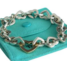 Tiffany & Co. 18 K Gold And Sterling Silver Bracelet
