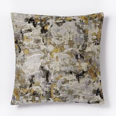 Watercolor Tapestry Pillow Cover - Neutral Multi | west elm
