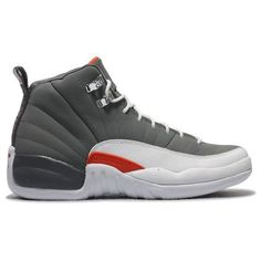 Air Jordan XII Retro Cool Grey Team Orange White 130690 012 For Sale 59531e2b5