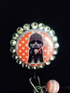 Star Wars Inspired Darth Vader Bling Retractable by ForTheLovetlc, $10.00