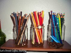 Let's Drink Coffee, Darling: Making Our Apartment Our Home: Craft Corner