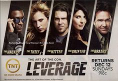 Leverage was filmed in Portland, OR