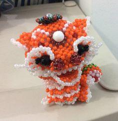 Orange lion dragon SOLD