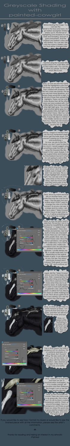 Tutorial-Greyscales by painted-cowgirl.deviantart.com on @DeviantArt