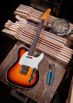 Custom Deluxe Telecaster - Fender Custom Shop 2012.....Basically it's really cool!! :D