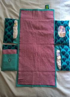 Changing pad for on the way, Wickelix of Heckiseck soon as freebook - Baby Runde - Baby Diy