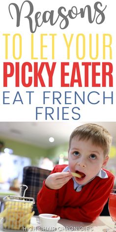 Here are 7 reasons to let your picky eater eat French fries. Mom to mom, French fries may not be all that bad. Here's how they can actually help picky eaters learn to like other healthier foods that can improve toddler nutrition and be incorporated into toddler meals. Potato Fritters, Potato Latkes, Baby Food Recipes, New Recipes, Healthy Recipes, Types Of French Fries, Toddler Nutrition, Home Fries, Very Tired