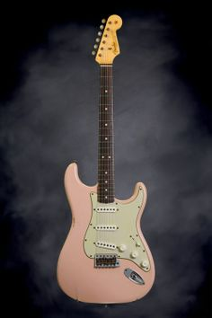 New Fender Custom Shop 1963 Custom Relic Stratocaster - Faded Shell Pink Absolutely Amazing!
