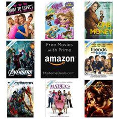FREE Movies with Amazon Prime