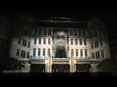 Une projection en 4D pour célébrer les 10 ans de Ralph Lauren (Projection Mapping)