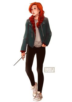 Ginny Molly Weasley G (Marries a Diggory) The Auror- tbh half the reason i want to reread hp is to get back in tune with book ginny Harry Potter Girl, Lily Potter, Harry James Potter, Harry Potter Universal, Harry Potter Fandom, Ginny Weasley, Character Inspiration, Character Art, Character Design