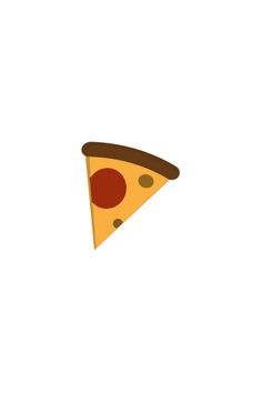 Pizza Slice Vector Image #pizza #food #vector http://www.vectorvice.com/food-icons-vector-pack