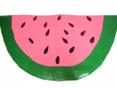Watermelon Sit-Upon-check out this site, theres a lot of stuff that we can use for girl scouts.