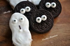 Nutter Butter Ghosts and Cookie Monsters