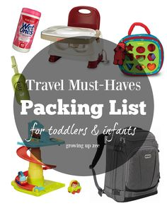 The holidays are coming up and traveling away from home with little ones can always seem overwhelming. You don't want to pack too much...